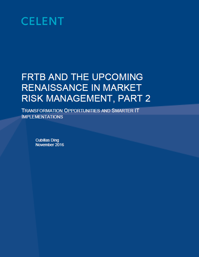 FRTB and the Upcoming Renaissance in Market Risk Management, Part 2